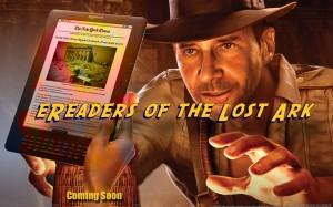 eReaders perduti (parodia da Indiana Jones)