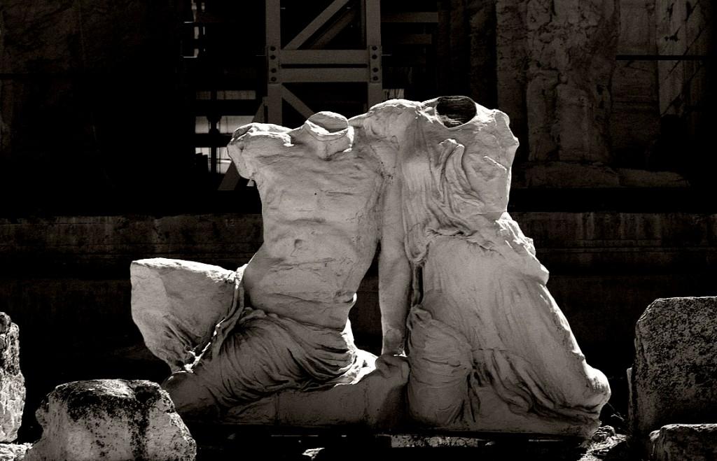 Frammenti di staute (Atene, Acropoli)